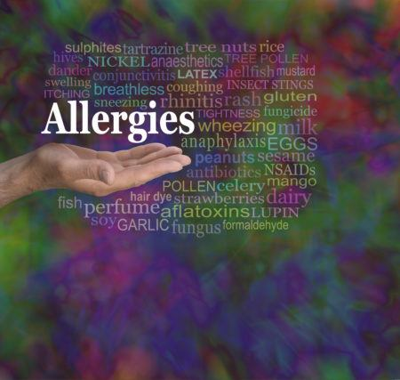 Allergens filtered through airborne filtration systems