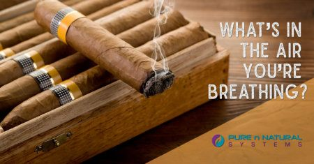 Cigar Smoke Eaters & Whats in Your Air