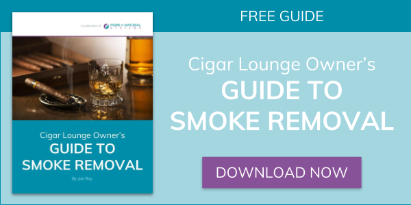 Cigar Lounge Owner's Guide to Smoke Removal